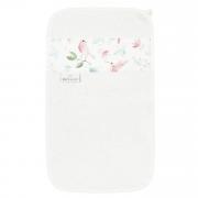 Bamboo hand towel Paradise birds Cream