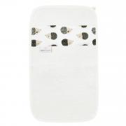 Ręcznik bambusowy do rąk - Jeżki - śmietanka