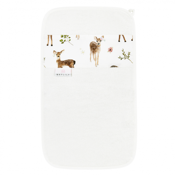 Bamboo hand towel Fawns Cream
