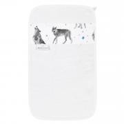 Bamboo hand towel Star wolves Cream