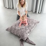 Bunny Pillow Dark grey