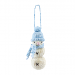 Snowman - light blue