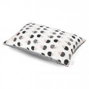 Bamboo fluffy pillow Hedgehogs boys Silver