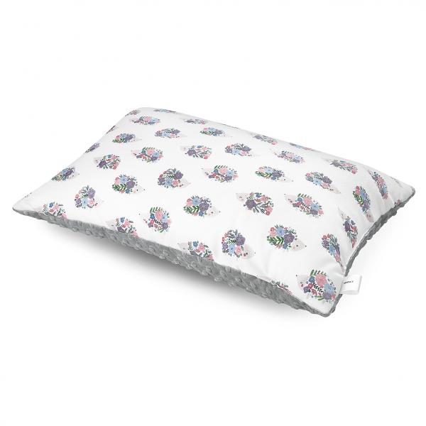 Bamboo fluffy pillow Hedgehogs girls Silver