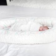 Luxe light blanket Fawns White