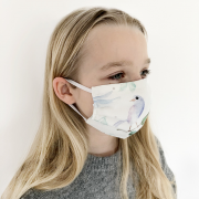 Reusable Face mask Heavenly feathers