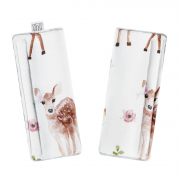 Bamboo belt covers - Fawns