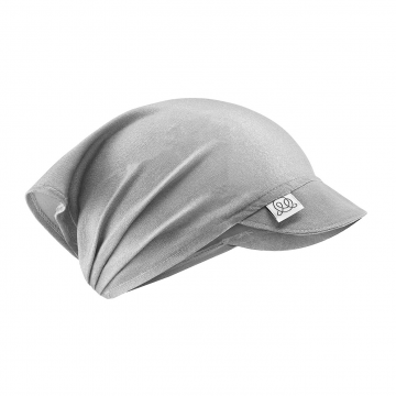Bamboo visor cap Grey