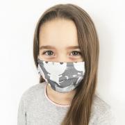 Summer reusable Face mask Blush rain