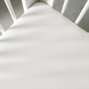 Cotton jersey bed sheet 140x200 White