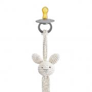 Pacifier clip Bunny mint