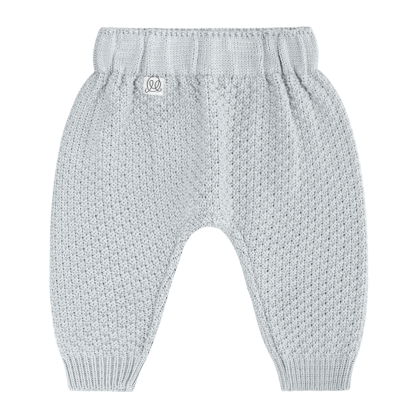 Knitted bamboo pants - Grey