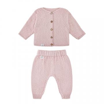 Bamboo set - dusty pink