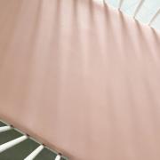 Cotton jersey bed sheet 90x200 - Blush pink