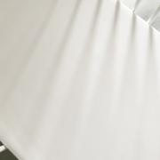 Cotton jersey bed sheet 90x200 - White