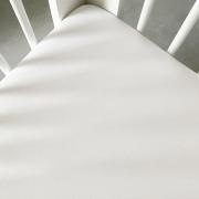 Cotton jersey bed sheet 80x160 - White