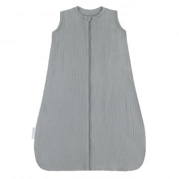 Summer muslin sleeping bag - grey