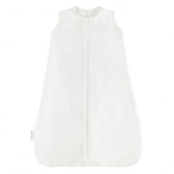Cotton muslin sleeping bag Cream