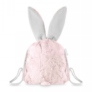 Bunny backpack - Dusty rose