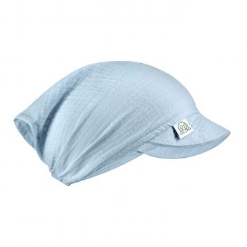 Muslin visor cap Grey