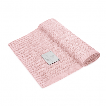 Bamboolove Air blanket Blush pink