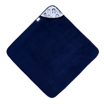 Ręcznik bambusowy niemowlaka Trollinki Granat