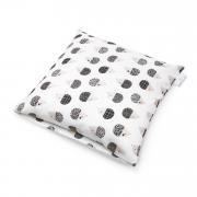 Bamboo cushion cover - Hedgehogs boys