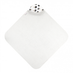 Bamboo baby towel Hedgehogs boys Cream - Cream