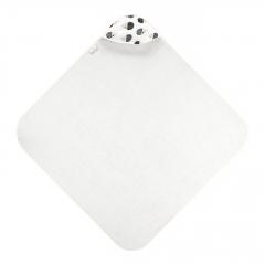 Ręcznik bambusowy niemowlaka Jeżki - Śmietanka