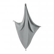 Muslin scarf Grey-Cream
