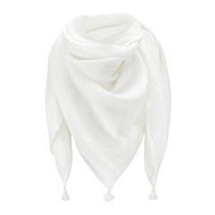 Muslin swaddle scarf - cream