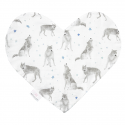 Sweetheart bamboo diaper - star wolves