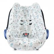 Bamboo car seat cover - Koala