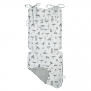 Bamboo stroller pad -Dragonflies