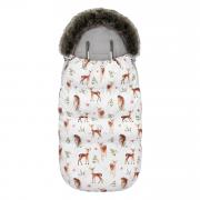 Winter stroller sleeping bagSNØ 1-4 yo - Fawns