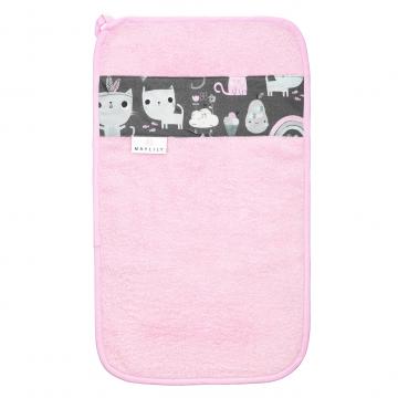 Bamboo hand towel Kotahontas Pink