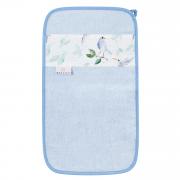 Bamboo hand towel - Heavenly birds - light blue