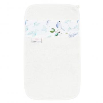 Ręcznik do rąk Niebiańskie ptaszki Błękit