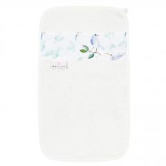 Bamboo hand towel Heavenly birds - Cream