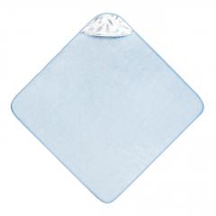 Ręcznik bambusowy niemowlaka Niebiańskie piórka - Błękit