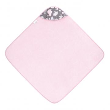 Bamboo baby towel Kotahontas Pink
