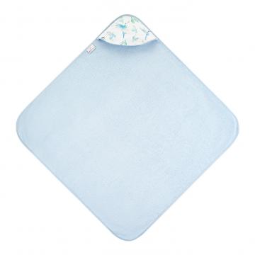 Ręcznik bambusowy niemowlaka Niebiańskie ptaszki Błękit