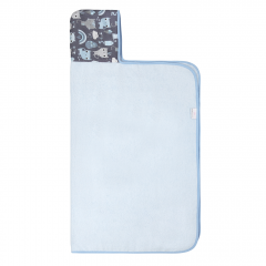 Bamboo hooded towel Indiana cat - Light blue