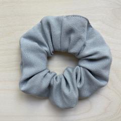 Bamboo scrunchie - grey