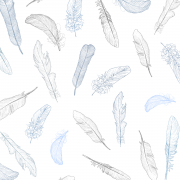 Bamboo muslin sleeping bag PURE - Paradise feathers