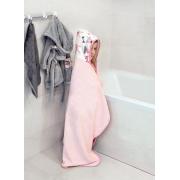 Bamboo hooded towel Bunnies Pink