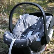 Bamboo car seat cover Paradise birds