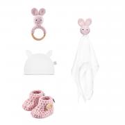 Gift set 4 pcs - Dusty pink