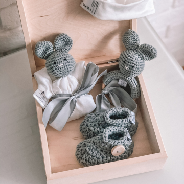 Gift set 4 pcs - Grey