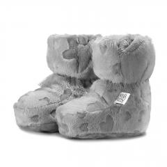 Short booties - Love grey